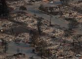 美加州山火29人遇难 烧毁面积相当整个纽约市