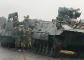 津巴布韦军队开进首都 夺取国家电视台