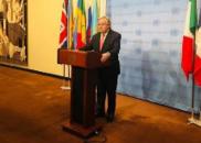"""联合国秘书长:""""两国方案""""不可替代"""