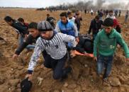 一名巴勒斯坦人在加沙地带被以色列士兵枪杀
