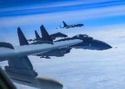 视频曝光!空军多型战机战巡南海