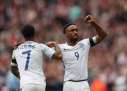 英格兰2-0轻取立陶宛
