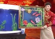 """视频:央视春晚傅琰东""""金鱼魔术""""  画中鲤鱼跃龙门"""