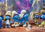 《蓝精灵3》上演美女驭萌兽 蓝色娘子军出击!