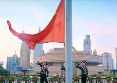 养兵千日,用兵千日!他们在上海升国旗