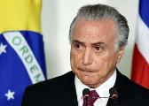 巴西总统特梅尔抵达厦门