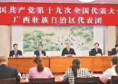 广西书记彭清华、主席陈武参加自治区代表团讨论