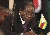 津巴布韦总统穆加贝私人住所附近传出枪声