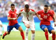 世界杯-科拉罗夫圆月弯刀 塞尔维亚1-0哥斯达黎加