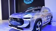 上汽大通智联纯电SUV概念车亮相北京车展
