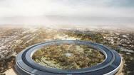 Apple Park航拍视频:收尾阶段 主体建筑已完成