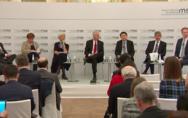 在慕尼黑安全会议上谈如何化解中美贸易争端