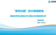 美国政界大V谈中国占比不足1%,清研发布美国涉华舆情报告