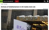 美国媒体暴民政治中的极权主义回声