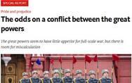 《经济学人》:哪些大国之间有可能爆发冲突?