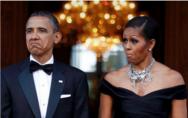 """""""逐梦演艺圈""""的奥巴马夫妇"""