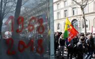 """法国抗议不断,这是""""五月风暴""""50年后的回归?"""
