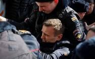 俄数千人上街要求梅德韦杰夫下台超千人被捕 美欧谴责:立即放人!