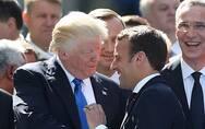 美英法解释打击叙利亚合法性 马克龙:是我说服特朗普留下