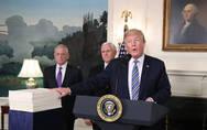 """没钱修墙?看特朗普如何从1.3万亿政府拨款法案""""挤""""钱"""