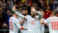 友谊赛-西班牙6-1阿根廷造惨案 伊斯科帽子戏法