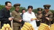 金正恩视察朝鲜人民军第810部队所属1116号农场