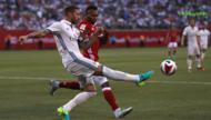 国际冠军杯-达尼洛世界波阿拉巴中柱 皇马1-0拜仁