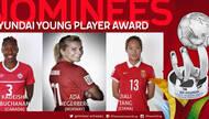 女足世界杯各奖项候选出炉 唐佳丽入围最佳新人