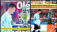 阿媒痛批梅西美洲杯表现:迷失自我 决赛向来踢不好