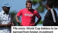 FIFA一被捕高官被引渡美国 世界杯投票程序将改革