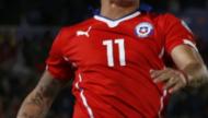 美洲杯-秘鲁铁卫染红巴尔加斯2球 智利2-1晋级决赛