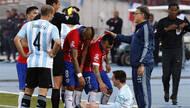 梅西家人被智利球迷攻击 被紧急转送到包厢看球