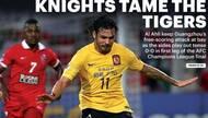 0-0也吹?阿联酋媒体高呼:骑士驯服华南虎(图)
