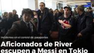梅西机场遭球迷吐痰侮辱 踢赢河床=忘了祖国?(图)