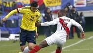 美洲杯-哥伦比亚0-0秘鲁 世界杯8强命悬一线