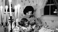 美国杂志中的老照片 女名人的家庭生活