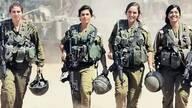 模特级以色列女兵,打仗比男人还凶猛!