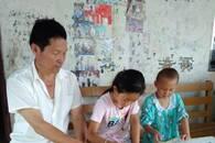 亳州一残疾老师心系学生 二十年来坚持送教上门