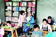 轮椅青年办免费学堂 大山里义务辅导留守儿童五年