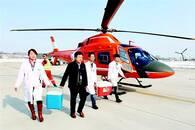 男孩捐献肝脏肾脏 竹溪十堰武汉上演空中生命大接力