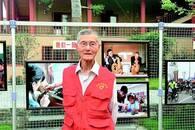 """92岁高龄32载善行 """"义工爷爷""""建立爱心工作室"""