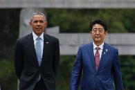 奥巴马拥抱广岛原爆幸存者 打的什么小算盘?(图)