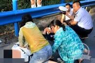 """暖""""心""""闻:路遇车祸 汉滨区扶贫干部展开生死救援"""