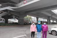 战疫安徽暖新闻 临危不乱 安徽女护士武汉街头急救坠桥者
