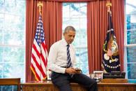 奥巴马6年首开个人推特账号 5小时引百万粉丝围观