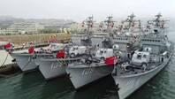 """什么叫""""退役不褪色""""領略中國海軍的戰艦保養水平"""