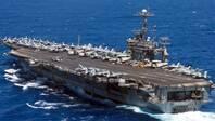 """美军将在""""无航母""""情况下部署航母战斗群"""