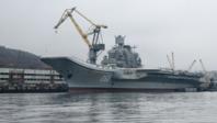 """俄罗斯否认""""库兹涅佐夫""""号航母发生火灾"""