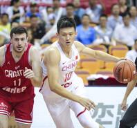 2018斯杯:中国男篮蓝队73-79不敌克罗地亚