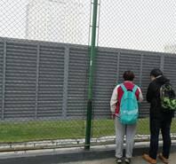 国安训练场加遮挡板 为保护战术机密
